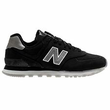 New Balance 574 Classic Traditionnels Black Men's Low Top Trainers