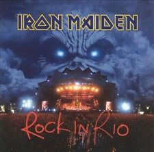 Rock in Rio by Iron Maiden (CD, Mar-2002, 2 Discs, Columbia (USA))