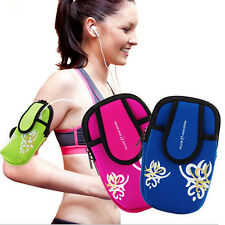 Outdoor Sports Running Wrist Pouch Mobile Cell Phone Arm Band Bag Wallet LACA