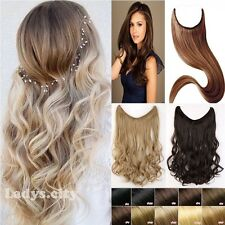Long Secret Wire Hairpiece Hair Extensions Full Head As Human Hair Extension UK