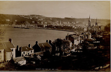 ECOSSE Isle of Bute GWW Rothesay from west bay Tirage albuminé  18x29  Cir