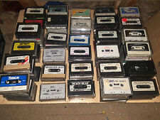 Commodore 64 C64 Cassette Games (In Cases, No Inlays) Huge Selection