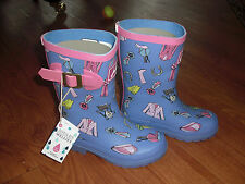 BNWT GIRLS JOULES WELLIES WELLINGTONS PONY HORSE DOLLY MIXTURE SIZE 10 OR 4