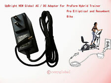 AC Power Adapter For ProForm Hybrid Trainer 2-in-1 Elliptical and Recumbent Bike