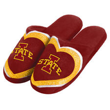 Iowa State Cyclones Forever Collectibles Ladies Love Glitter  Slippers