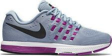 Nike Air Zoom Vomero 11 Womens Size Running Grey Black Violet Shoes 818100 405