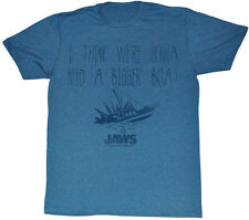 Jaws I Think We're Gonna Need A Bigger Boat Adult T Shirt Great Classic Movie