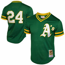 Rickey Henderson Mitchell & Ness Oakland Athletics Baseball Jersey - MLB