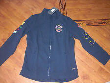 BNWT LADIES JOULES NAVY MARY KING ZIP THROUGH SWEATSHIRT TOP JACKET SIZE 16.
