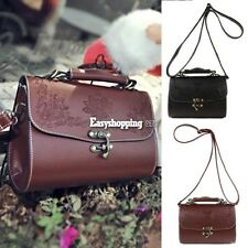 New Fashion Women Synthetic Leather Vintage Style Shoulder Bag Casual ES9P01