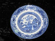 REPLACEMENT CHINA SAUCER BLUE & WHITE Staffordshire English Ironstone OLD WILLOW
