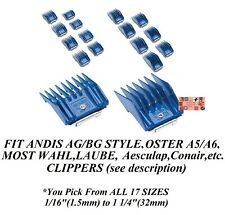 1-ANDIS AG BG UNIVERSAL Clip Guard Guide Blade COMB*Fit MOST Oster,Wahl Clipper