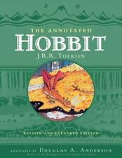 THE ANNOTATED HOBBIT - DOUGLAS A. ANDERSON J. R. R. TOLKIEN (HARDCOVER) NEW