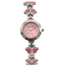 New Fashion Cute Butterfly Perfect Lady Girl Watches Quartz Wrist Watch Gift O12