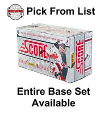 (HCW) 2011-12 Panini Score Glossy 1-250 NHL Hockey Cards - You Pick From List