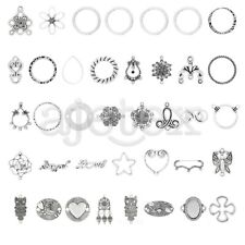 5-150pcs Tibetan Silver Pendant Metal Connector Jewellery Finding