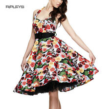 Hell Bunny 50s Dress MEXICO Rockabilly Pin Up Skulls Floral Roses All Sizes