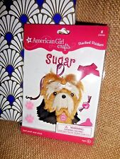 ** AMERICAN GIRL CRAFTS ** YORKIE Dog STACKED STICKERS Dog & Accessories SUGAR