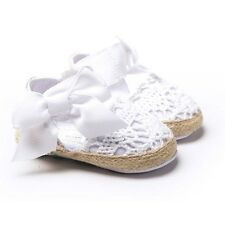 New Spring Summer Red White Pink Sandals Newborn Baby Shoes Soft Sole Crib Shoes
