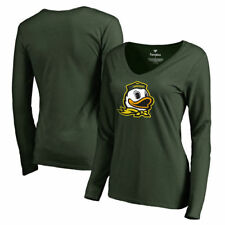 Oregon Ducks Fanatics Branded Women's Primary Logo Long Sleeve T-Shirt - NCAA