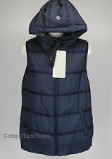 NEW LULULEMON Chilly Chill Puffy Vest 4 8 10 Reversible Goose Down Inkwell