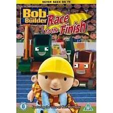 Bob The Builder Race To The Finish DVD - Brand New!