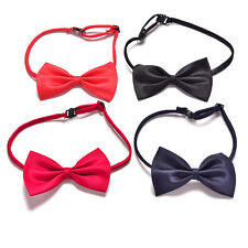 Boys Kids Children Toddler Infant Solid Bowtie Pre Tied Wedding Bow Tie NecktieC