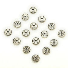 100pcs Tibet Silver Spacer Metal Beads Jewelry DIY Accessories Bead TO