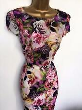 £80 Jessica Wright Pink Rose Floral Evening Party DRESS BNWT special offer