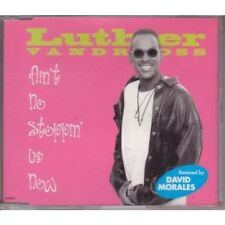 LUTHER VANDROSS Ain't No Stoppin' Us Now CD Austrian Epic 1995 6 Track 1995