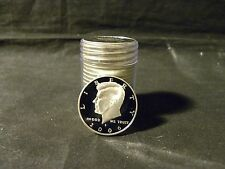 2006 S 90% Silver Proof Kennedy Half Dollar Roll  20 Coins $10 Face #1