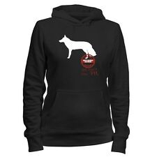 White German Shepherd Security Services We don't call 911 Women Hoodie