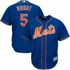 David Wright Majestic New York Mets Baseball Jersey