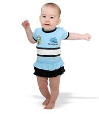CRONULLA SHARKS NRL TEAM GIRLS FOOTYSUIT TUTU FRILL SKIRT BABY INFANT ROMPER