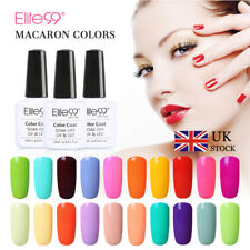 Elite99 Macaron Colour Gel Nail Polish UV LED Lacquer Manicure Top Base Coat New