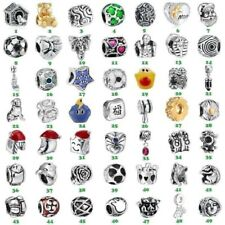Brand New Design European Bead Silver Charms For Diy 925 Sterling Bracelet Chain