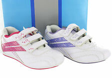 New Girls Mercury touch Fastening Casual Lesuire Fashion Trainers Shoes UK 8-2