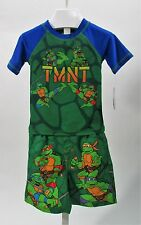 Teenage Mutant Ninja Turtles Toddler 2 Piece Swim Set Sz 2T, 4T, 5T NWT UPF 50+