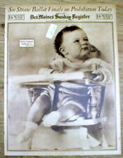 8 1932 headline display newspapers LINDBERGH BABY KIDNAPPING Hopewell NEW JERSEY