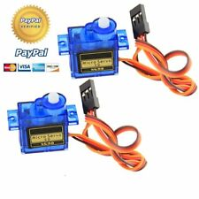 10pcs SG90 9G Micro Servo Motor RC Robot Arm Helicopter Airplane Remote Contr BK
