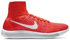 Nike Lunarepic Flyknit Womens Size Running Shoes Crimson White Pink 818677 602