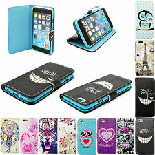 "Filp PU Leather Wallet Pouch Case Cover Stand For Apple iPhone 6 4.7"" 4.7 inch"