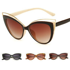 Sexy Cat Eye Womens Fashion Vintage UV400 Sunglasses Eyewear Shades Eye Glasses