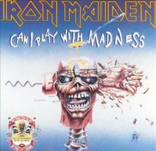 IRON MAIDEN - CAN I PLAY WITH MADNESS USED - VERY GOOD VINYL RECORD