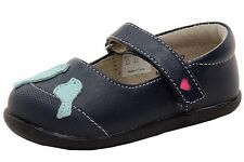 See Kai Run Toddler Girl's Kathryn II Navy/Blue Mary Janes Shoes Sz: 5T