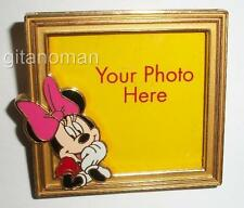 Disney Store DS - Minnie Mouse Picture Frame Put Your Own Photo in this Pin