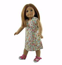 Doll Clothes Dress Sleeveless Floral fits 18 inch American Girl