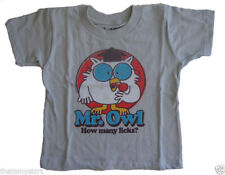 New Life Clothing Authentic Mr. Owl How Many Licks Toddler T-Shirt