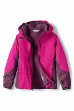 LANDS' END Little Girls 4, 6X Deep Pink 3-in-1 System Squall® Jacket NWT $149