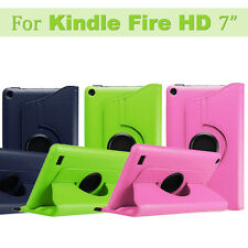 "360° Rotating Magnetic kickstand Case Cover For Amazon Kindle Fire HD 7"" Tablet"